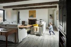 The Modern Farmhouse - Northern Wide Plank Corp Wood Planks, Wood Flooring, Clean Space, Wide Plank, Decoration, Modern Farmhouse, Beautiful Homes, New Homes, Colours
