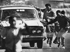Protesters are pictured during the Soweto Uprising, South Africa, June The protests were sparked by the South African government ordering black schools to teach certain subjects in Afrikaans. New Africa, South Africa, Africa News, Secondary School, Primary School, Buy Textbooks, Education And Development, Agricultural Science, Teacher Association