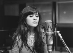 makes me miss singing. ++ zooey deschanel