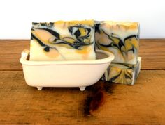Sunset Handmade Natural Vegan Soap Cold Process by LittlerockSoap