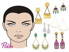 9146b62058ac Una guía que según tu estilo en accesorios y las características de tu cara  puede ser usada para realzar tu belleza