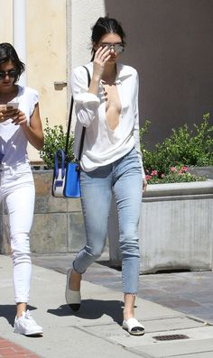 July Kendall Jenner out and about in Los Angeles (HQs) Urban Apparel, Kendall Jenner Mode, Urban Outfits, Celebrity Style, Girl Outfits, Street Style, Jeans, Clothes, Tom Boy