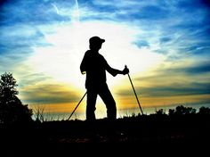 Nordic walking poles is an exercise that includes the use of two little poles to your 30 min to an hour walk.