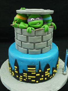 Teenage Mutant Ninja Turtles Party Ideas