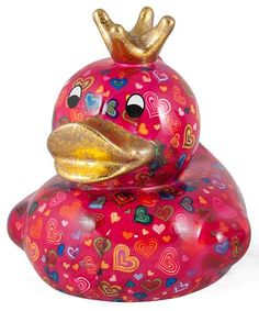 Betty Duck XL Ceramic Art Money Bank, Dark Pink & Hearts Print (Dark Pink, XL) Pomme-Pidou http://www.amazon.com/dp/B00QG17K5K/ref=cm_sw_r_pi_dp_uvJywb0XS2SAY