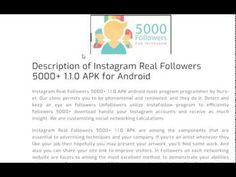 real instagram followers 5000+ apk