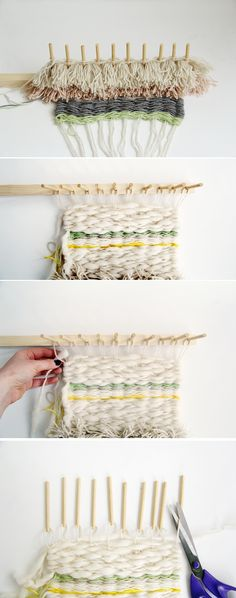 Fall For DIY Woven Wall Hanging Tutorial