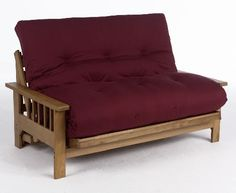 The Cavendish 2 Seater hardwood futon  http://www.futons-direct.co.uk