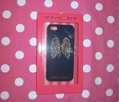 New Victoria's Secret Angel Wings Blue Gold Bling iPhone 5 Hard Case Cover | eBay
