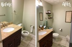 Drab to Dreamy: Decorating Tips for Small Bathrooms Condo Decorating, Decorating Tips, Small Bathrooms, Renting, Vanity, Mirror, Furniture, Home Decor, Dressing Tables
