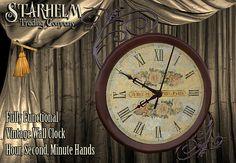 Victorian Steampunk Large Wall Clock