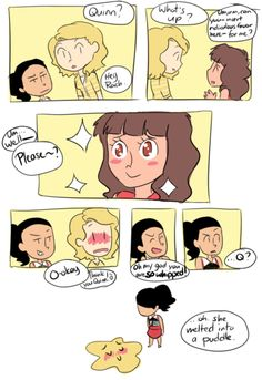 Faberry, with a hint of Santana