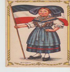 Republic Of Germany  Trade Card Vintage by vintagepostexchange