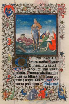 Friday Hours of the Compassion of God: Compline | Hours of Catherine of Cleves | Illuminated by the Master of Catherine of Cleves | ca. 1440 | The Morgan Library & Museum