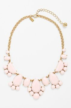 kate spade new york 'day tripper' stone bib necklace | Nordstrom THIS LOOKS LIKE LITTLE FEET