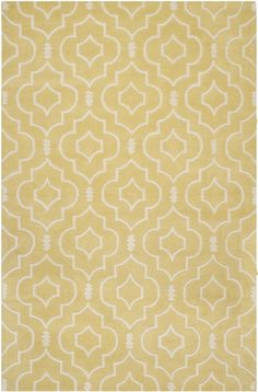 The Chatham Collection of Desai area rugs is made in India with a timeless quatrefoil motif, making a global design statement in these subtle but sophisticated floor coverings. The hand-tufted wool pile is used to recreate the elegant look and feel...