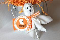 Halloween favor treats