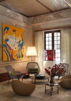 Gisele Taranto  проект Hotel Lounge  шоу Casa Cor 2012 LOVE THE ART
