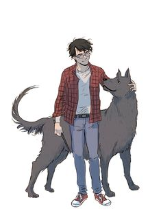 Harry Potter and Padfoot