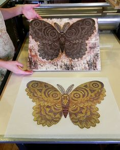 Behind the scenes with Tugboat Printshop! Follow the making of our original woodblock prints from start to finish & other interesting projects, too!