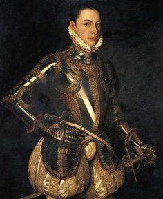 Алонсо Санчес Коэльо. Портрет Алессандро Фарнезе (1550-88)