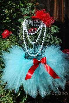 Aqua triple layered tutu and matching headpiece Reserved for my Fabulous customer Megan Perfect for Birthdays Dress Up Photography or Dance