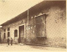 Vista de la casa donde nació Simón Bolívar, años '10 del siglo XX (Caracas).