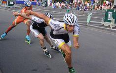 Mañana se presenta en Rosario el Mundial de Patinaje de Velocidad 2014. Inline Speed Skates, Roller Skating, The Incredibles, Neon, Running, Workout, Health, Sports, Life