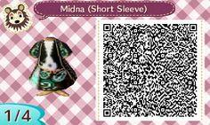 Midna's Robe (Short-sleeved)   QRCrossing.com