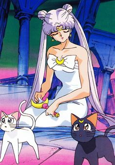 Sailor Moon/I used to have a Sailor Moon coloring book!
