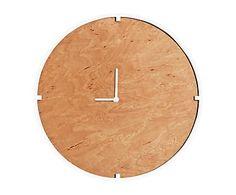 """Zegar ścienny """"Brooks White"""", Ø 30, wys. 4 cm"""
