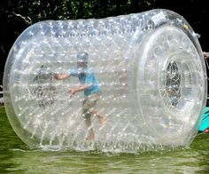 this would be waaaaay too much fun floating down a river in...