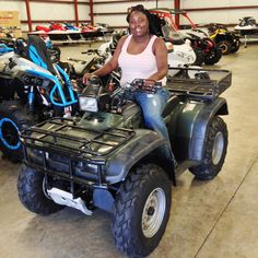 Thanks to Victoria Jones from Laurel MS for getting a 1999 Honda Foreman at Hattiesburg Cycles