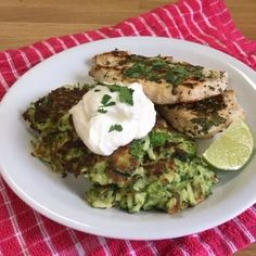 "8,064 Likes, 381 Comments - Joe Wicks (@thebodycoach) on Instagram: ""WOW 😊 You've got to try these courgette and midget tree fritters with lime and coriander chicken 😌…"""