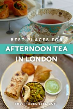 From a fun twist on traditional English tea, to places you didn't think you could go, here some unusual places to have tea in London. List Of Teas, Afternoon Tea London, High Tea Food, Tea Sandwiches, Food Tasting, I Want To Eat, Best Dishes, Lunches And Dinners, So Little Time