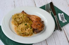 Varza calita cu pulpa de pui Tandoori Chicken, Grains, Rice, Meat, Ethnic Recipes, Food, Essen, Meals, Seeds