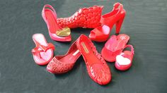 We like our shoes red #shoes #melissashoes