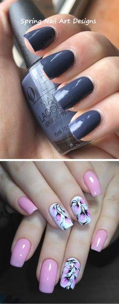 20+ Spring Nail Art Design Ideas #nailartideas #springnailart Spring Nail Art, Spring Nails, Nail Art Hacks, Nail Art Galleries, Spring Day, Art Tips, Nail Art Designs, Art Ideas, Manicure