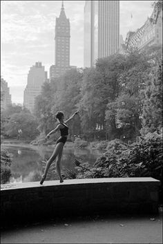 Ballerina and New York. Dane Shitagi