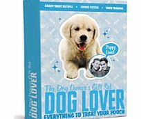 Dog Lover Gift Set Looking for the perfect gift for your pooch? Look no further than the Dog Lover Gift Set. The set includes: 1 x Trick training poster 1 x Dog recipes leaflet 2 x Bone shaped cookie cutters 2 x Dog toy http://www.comparestoreprices.co.uk/gift-ideas/dog-lover-gift-set.asp