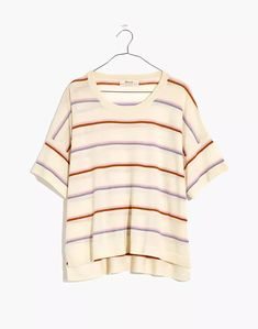 Women's New Arrivals: Clothing, Bags & More | Madewell Cashmere Wool, Cashmere Sweaters, Striped Tee, Madewell, How To Make, How To Wear, Tees, Clothes, Fashion