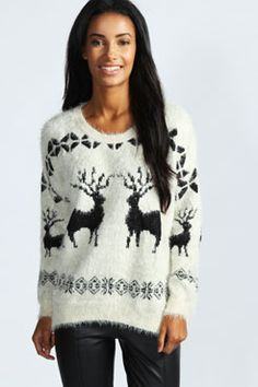 Cute Reindeer Sweater