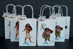 Moana maui and poua INSPIRED  12pc Disney Birthday Party Favor