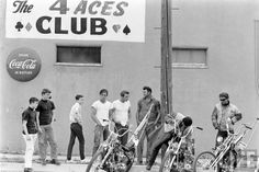 The 4 Aces Club #vintage #motorcycles