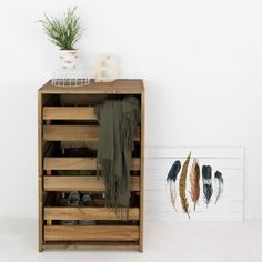 Chest of Drawers by Decowood designed in Spain #MONOQI #PineWood