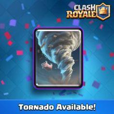 Clash Royale: la carta Tornado ya está disponible para todos