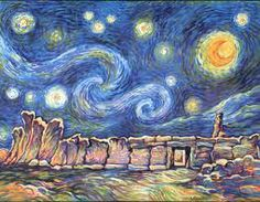 Moma Vincent Van Gogh The Starry Night 1889 - HD1600×1200