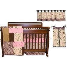 "Trend Lab Sweet Safari Pink 6-Piece Crib Bedding Set - Trend Lab - Babies ""R"" Us"