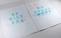 Glasgow designer Kerr Vernon has recently revamped his portfolio, turning it into a digital newspaper.