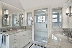master bath with window